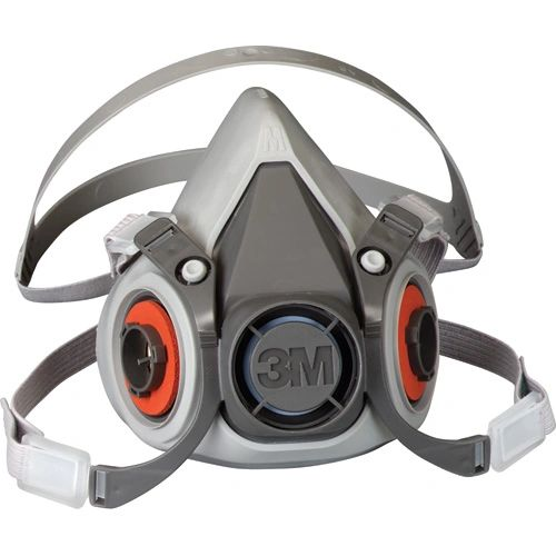 SE886 3M 6000 Series Half Facepiece Low-Maintenance Respirators #6100 (SML-LRG)