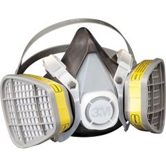SI937 3M Maintenance-Free ORGANIC VAPOUR Respirators #5101 SMALL (MED/LRG)