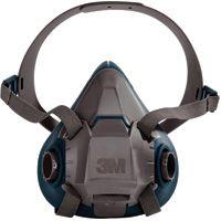 SEJ779 3M 6500 Series Half Facepiece Respirators #6501 SMALL (MED/LRG)