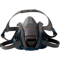 SEJ782 3M 6500 Series Half Facepiece Respirators #6501QL SMALL (MED/LRG)