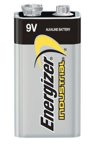 XB876 9V - Alkaline 9 V Industrial Batteries Voltage: 12/BOX ENERGIZER