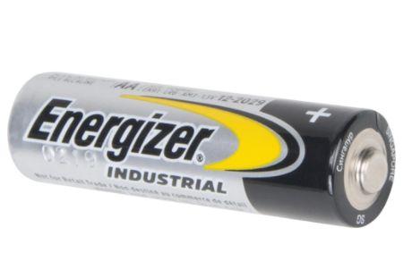 XB872 AA - Alkaline 1.5 V Industrial Batteries Voltage: 24/BOX ENERGIZER