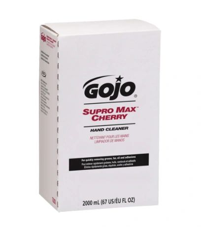 JD209 GOJO® SUPRO MAX Cherry Hand Cleaner #7282-04-CAN00 (Sold 4/CASE)