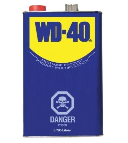 NA609 WD-40® Penetrant LUBRICANT Multi-Purpose 3.785L Can MFG #01010