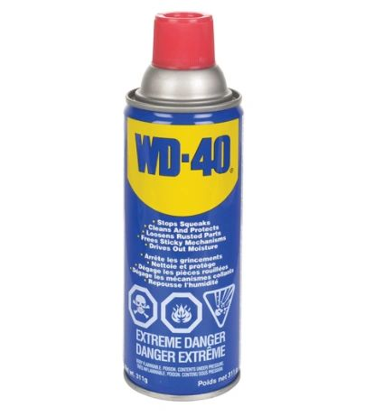 NA611 WD-40 LUBRICATION, 11 oz Aerosol Container Can #01011