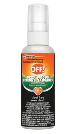 JL956 Insect Repellent Deep Woods® OFF! DEET-Free, Spray Bottle, 118 ml/BTL SC JOHNSON
