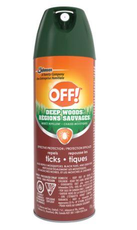 JL958 Tick Repellent OFF! 25% DEET Deep Woods® Aerosol 170gr/BTL SC JOHNSON