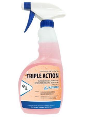JG665 Degreaser, and Disinfectant Cleaner, Triple Action - 750ml Trigger Bottle DUSTBANE #51345