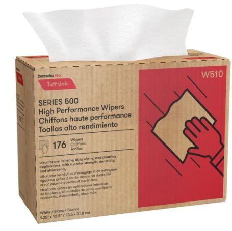 """JK882 Wipers, All-Purpose, Pro Tuff-Jo High-Performance Multifold Pop-Up 9-1/4"""" L x 12-1/2"""" W CASCADES #W510 (176SH/BX))"""