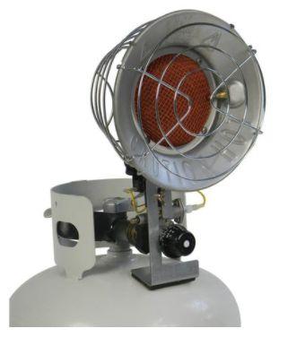 JG966 Sun Blast ® Single Tank-Top Radiant Heater PROPANE Min BTU Rating: 9000 / Max 15000 L.B.WHITE