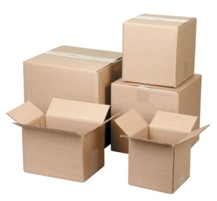 """PA119 Corrugated Cartons 18""""Width X 18""""Length X 18""""Height (Test 175 LBS) STANDARD MOVING BOXES"""