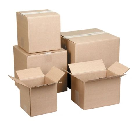 """PA120 Corrugated Cartons 12""""Width X 18""""Length X 12""""Height (Test 175 LBS) BOOK MOVING BOXES"""