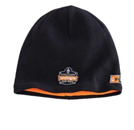 SGH678 N-Ferno 6820 FR Knit Cap Material: Cotton/Modacrylic Colour: Black ERGODYNE #16820