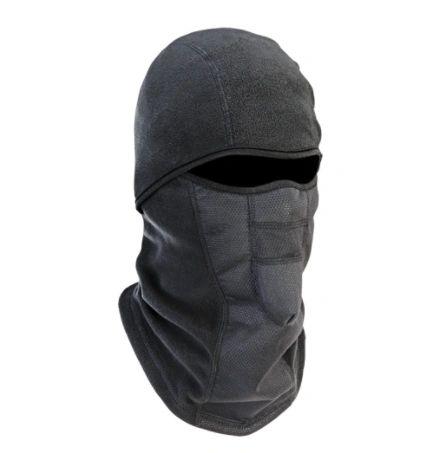 SEL893 N-Ferno ® 6823 Wind-proof Hinged Balaclava Fleece Black ERGODYNE 16823