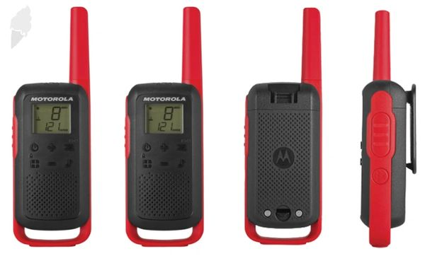 SGW761 Two-Way Radios, TalkAbout FRS Radio Band, 22 Channels, 32 km Range #T210 MOTOROLA