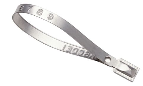 "PE997 Guard Lock® II Seals Truck Metal Length: 8-3/8""X.314""W 1000/BX TYDEN BROOKS #S92T"