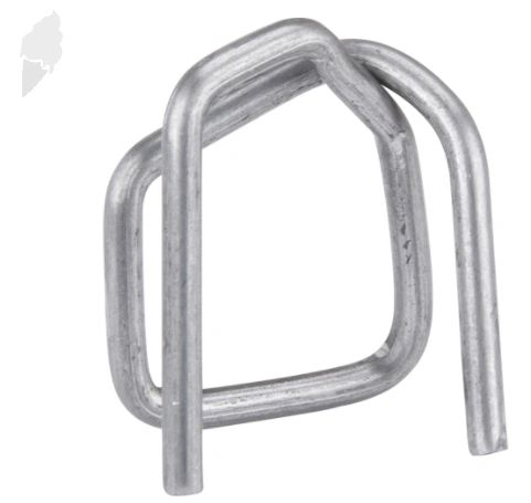 """PA501 Buckles, STEEL Wire 1/2""""Width 2000/BOX CORDEX #B-4 (fits any 1/2"""" Polypropylene Strapping)"""