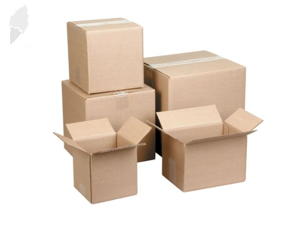 """PA129 Corrugated Cartons 19""""Width X 24""""Length X 24""""Height (Test 200 LBS) XLARGE MOVING BOXES"""