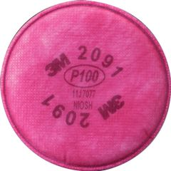 SE909 3M #2091 P100 Respirator Prefilters 2/PK