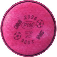 SE910 3M #2096 P100w/Acid Gas Respirator Prefilters 2/PK