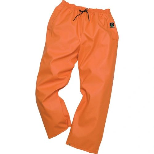 SAI177 PAINTS WAIST TIE PVC/POLY (MED OR 2XL) ORANGE RANPRO INC