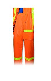 SD463 PANTS OVERALL TRAFFIC RAINSUIT PVC on Nylon High Visibility (CLASS 3 with JACKET) TV7002HV HONEYWELL