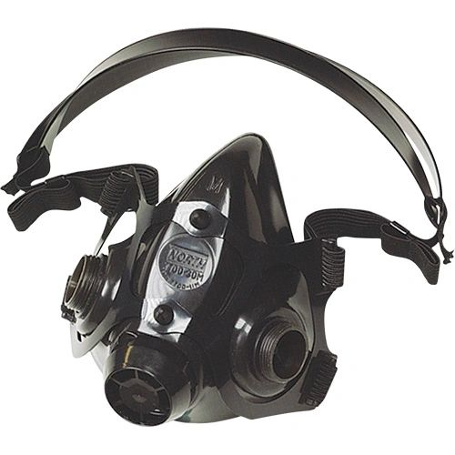 ZC352 RESPIRATOR, SERIES #7700 HALF-MASK NORTH Sz's S-L Black