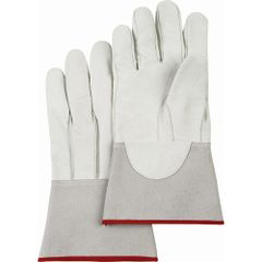 SAN641 Welders' Pigskin Tig Gloves, Gauntlet CUFF WELD-MATE LARGE (S-XL)