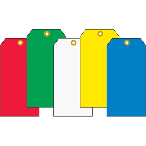 """SI977 SHIPPING TAG, GREEN #5 Size: 4 3/4"""" x 2 3/8"""" (1000/BX or 100/PK)"""