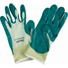 SQ136 NITRI-FLEX LITE NITRILE PALM COATED GLOVES #4500 Nylon Back FDA Approved (Sz's SM-XLR) Best Showa