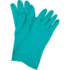 """SEF222 Nitrile UN-Lined 13""""LENGTH 11Mil Thick Green FDA (Sz's 7-11) ZENITH"""