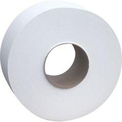 """JH501 TOILET PAPER, JUMBO JR. WHITE 2PLY 600`L"""" 8Roll/CS CASCADES PRO SELECT #B085"""