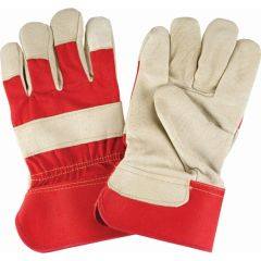 SAP222 PIGSKIN, PREMIUM FITTERS GRAIN GLOVES DEXTERITY COTTON LINED LEATHER TIP ZENITH
