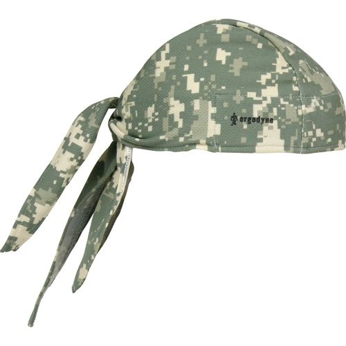 SEC676 Chill-Its® 6615 Cooling Dew Rags Camouflage #12478 ERGODYNE