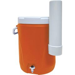 ON611 COOLER, WATER - 5 GALLON INSULATED LEAK RESISTANT Commercial RubberMaid (CUP DISPENSER OPTIONAL)