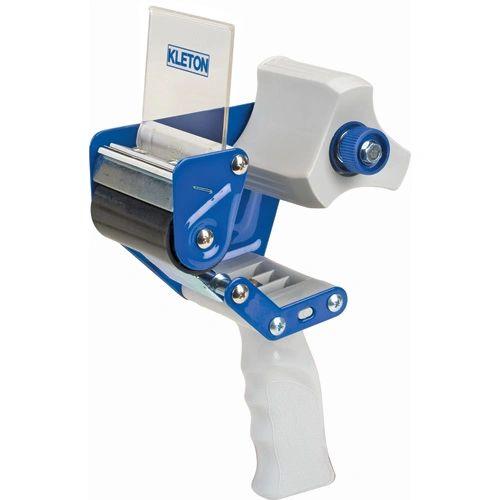 "PE323 Tape GUN Dispenser Industrial Grade Adj. Brake STEEL HEAVY DUTY 3"" Kleton"