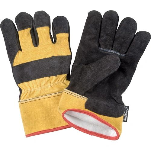 SAL544 Split Cowhide Fitters ThinsulateTM Lined Gloves, 40g, LARGE (Ladies to 2X-LRG 100g)