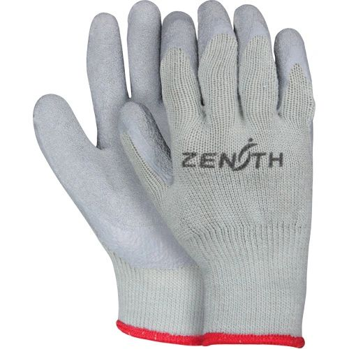 SAN431 Natural Rubber Latex Palm Coated Fleece-Lined Gloves, Size 8-11