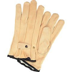 SAP215 Grain Cowhide Ropers Fleece Lined Gloves, Small-XLARGE ZENITH