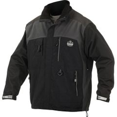 SEB753 Thermal Outer Layer Jackets Size: Medium - 3XLarge Black ERGODYNE
