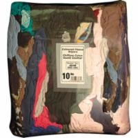 JB446 RAGS, CLEANING COLORED - FLEECE 10LB BAG