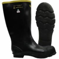 "SDL893 Handyman Rubber Boots 14"" Tall Steel Toe & Plate Electric Shock Resist CSA Z195 (SZ 8-13) Viking #VW3-1"