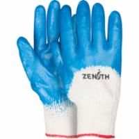 SAM646 Medium Weight Nitrile 3/4 Coated Gloves 13-gauge (SZ`s 7-10) ZENITH