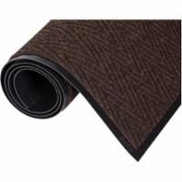 "SAY896 MATTING, Wiper/Scrapers - NEEDLE PUNCH V - Chevron™ 3'W x 5'L x 5/16""TH Colour: BROWN Traffic: MODERATE ZENITH (4 Sizes Available)"