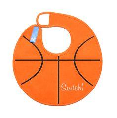 Basketball Baby Bib