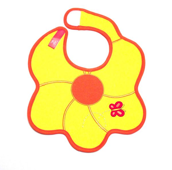 Flower Baby Bib