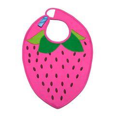 Strawberry Baby Bib