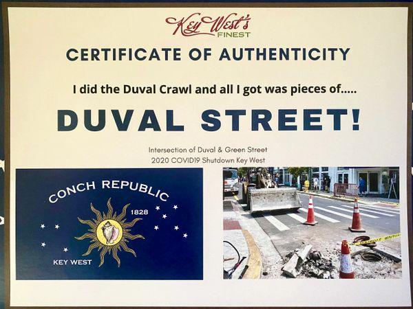 Duval Street!