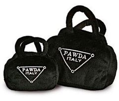 Toy: Pawda Plush Purse (Two sizes)