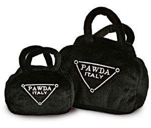 Toy: Pawda Plush Purse (Two sizes)
